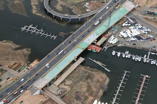 ConnDOT West River Bridge Replacement. New Haven & West Haven, CT
